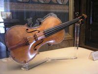 Spanisch II Stradivari-Violine im Palacio Real, Madrid, Baujahr ca. 1687