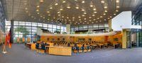 Thüringer Landtag: Plenarsaal, von innen