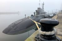 Flüsterfahrt mit Brennstoffzelle: Deutsche U-Boote fahren unter Wasser mit Wasserstoff. Bild: ZDF Fotograf: Mark Hugo