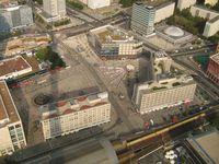 Alexanderplatz. Aussicht vom Fernsehturm, 2009