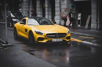 Mercedes-Benz coupe (Symbolbild)