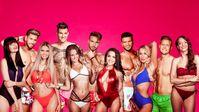 "Die Islander (vlnr): Sabrina, Mike, Stephanie, Jan, Linda, Julian, Elena, André, Chethrin, Silvain, Annika. Bild: ""obs/RTL II/RTL II/Stefan Behrens"""