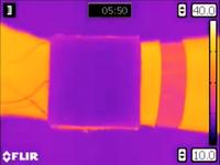 Im Wärmebild getarnt: Körperwärme bleibt unsichtbar.