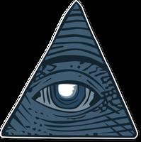 Auge in Pyramide: Viele wittern Verschwörung.