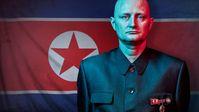 Als Spion in Nordkorea - ein Familienvater aus Dänemark will undercover die Verstrickungen des Regimes in den internationalen Waffen- und Drogenhandel aufdecken. Bild: ZDF Fotograf: ZDF/Piraya Film I /Wingman Media