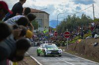 """SKODA bei der Rallye Spanien: Pontus Tidemand/Emil Axelsson (S/S). Bild: """"obs/Skoda Auto Deutschland GmbH"""""""