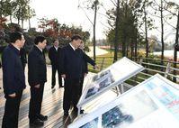 Chinese President Xi Jinping inspects Yangzhou, east China's Jiangsu Province, November 13, 2020. Bild: Xinhua