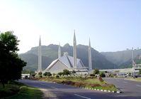 Die von Saudi-Arabien finanzierte Faisal-Moschee in Islamabad bietet bis zu 74.000 Gläubigen Platz