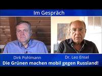 """Bild: SS Video: """"Die Grünen machen mobil gegen Russland: Leo Ensel und Dirk Pohlmnn im Gespräch"""" (https://youtu.be/W02EMvoy6vg) / Eigenes Werk"""