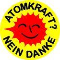"""""""Atomkraft Nein Danke"""" Aufkleber"""