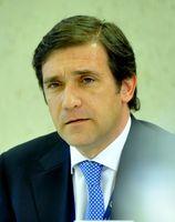 Pedro Manuel Mamede Passos Coelho im Juni 2011 beim EPP Kongress.