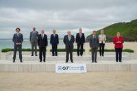 Die Führer und Beobachter der G7 in Cornwall (2021)