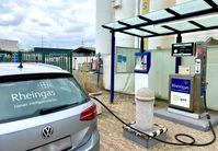 Auftanken an einer LPG-Tankstelle in Brühl Bild: Propan Rheingas GmbH & Co. KG Fotograf: Propan Rheingas GmbH & Co. KG