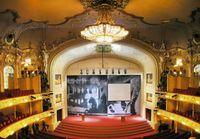 Innenraum der Komischen Oper