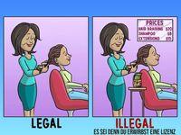"""Nur mit einer Lizens vom Staat ist deine Tätigkeit """"legal"""". Sinnvoll? (Symbolbild)"""