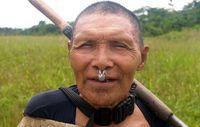 Manche Mitglieder der Murunahua, wie dieser Mann, wurden vor einigen Jahren erstmals kontaktiert. Bild: Chris Fagan/UAC/ProPurús