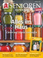 """Titelcover Senioren Ratgeber Ausgabe 10/2020.  Bild: """"obs/Wort & Bild Verlag - Gesundheitsmeldungen"""""""