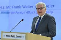 Frank-Walter Steinmeier Bild: UN Geneva, on Flickr CC BY-SA 2.0