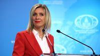 Maria Sacharowa (2021) Bild:  Pressedienst des russischen Außenministeriums