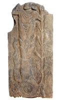 Basaltstele mit unbekannter Götterdarstellung Quelle: Forschungsstelle Asia Minor (idw)