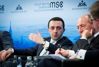 Irakli Gharibaschwili auf der 50. Münchner Sicherheitskonferenz (2014)
