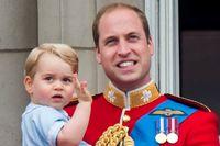 Prinz William mit seinem Sohn Prinz George Bild: ZDF Fotograf: ZDF/wireimage/Samir Hussein