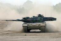 Leopard 2 Bild: Krauss-Maffei Wegmann GmbH & Co. KG