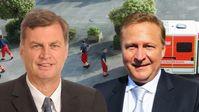 Thomas Jung, MdL, Dr. Rainer van Raemdonck, MdL, AfD-Fraktion im Brandenburgischen Landtag