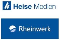 """Logos Heise Medien, Rheinwerk  Bild: """"obs/Heise Medien"""""""