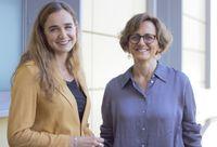 Mercedes Vidal (rechts) und Blanca Guarner (links)  Bild: Opus Dei Deutschland Fotograf: Opus Dei Deutschland