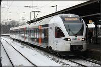 Rhein-Ruhr-Express: Designstudie an einem eurobahn-Triebwagen.