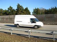 Lieferwagen (Symbolbild)