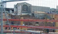 Stuttgart 21: Baugrube des Technikgebäudes (August 2012)