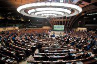 Plenarsaal des Europarats