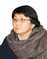 Rosa Otunbajewa Bild: Iliasbeshimov at en.wikipedia