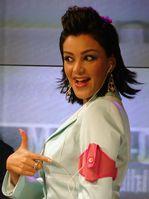 Verona Pooth wirbt im November 2004 für Maxfield