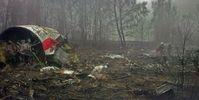 Flugzeugabsturz bei Smolensk: Trümmer der verunglückten Maschine