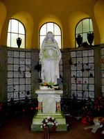 Kolumbarium auf dem Nordfriedhof Wiesbaden, Innenansicht (Symbolbild)