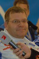 Elton bei der TV total Stock Car Crash Challenge 2010