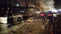 Autobombenanschlag in Ankara 2016