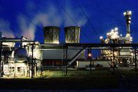 Die Petroplusraffinerie in Ingolstadt