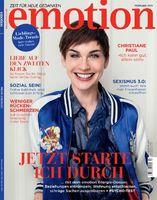 """Emotion Verlag GmbH, Titelbild zur Ausgabe 02/2015, EVT: 14.01.2015. Bild: """"obs/EMOTION Verlag GmbH/Urban Zintel"""""""
