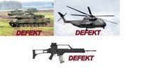 Bundeswehr: Jeder Mafia-Clan ist besser ausgerüstet als die deutsche Armee (Symbolbild)