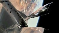 "Raumflugzeug ""VSS Unity"" im Weltall, der 22. Mai 2021 - SNA"
