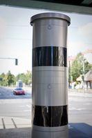 """Blitzersäule in einer Unterführung/Tunneleinfahrt / Bild: """"obs/CODUKA GmbH/A. Labrentz"""""""