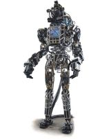 "Prototyp von Boston Dynamics ""Atlas"" im Jahr 2013."