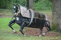 Militärrobote: Prototyp des Legged Squad Support Systems