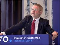Hans-Günter Henneke auf dem 70. Deutschen Juristentag 2014 in Hannover