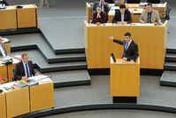 Oppositionsführer Mike Mohring im Thüringer Landtag (2014)