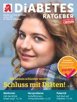 """Titelcover Diabetes Ratgeber, Ausgabe 1/2021.  Bild: """"obs/Wort & Bild Verlag - Gesundheitsmeldungen/W&B"""""""